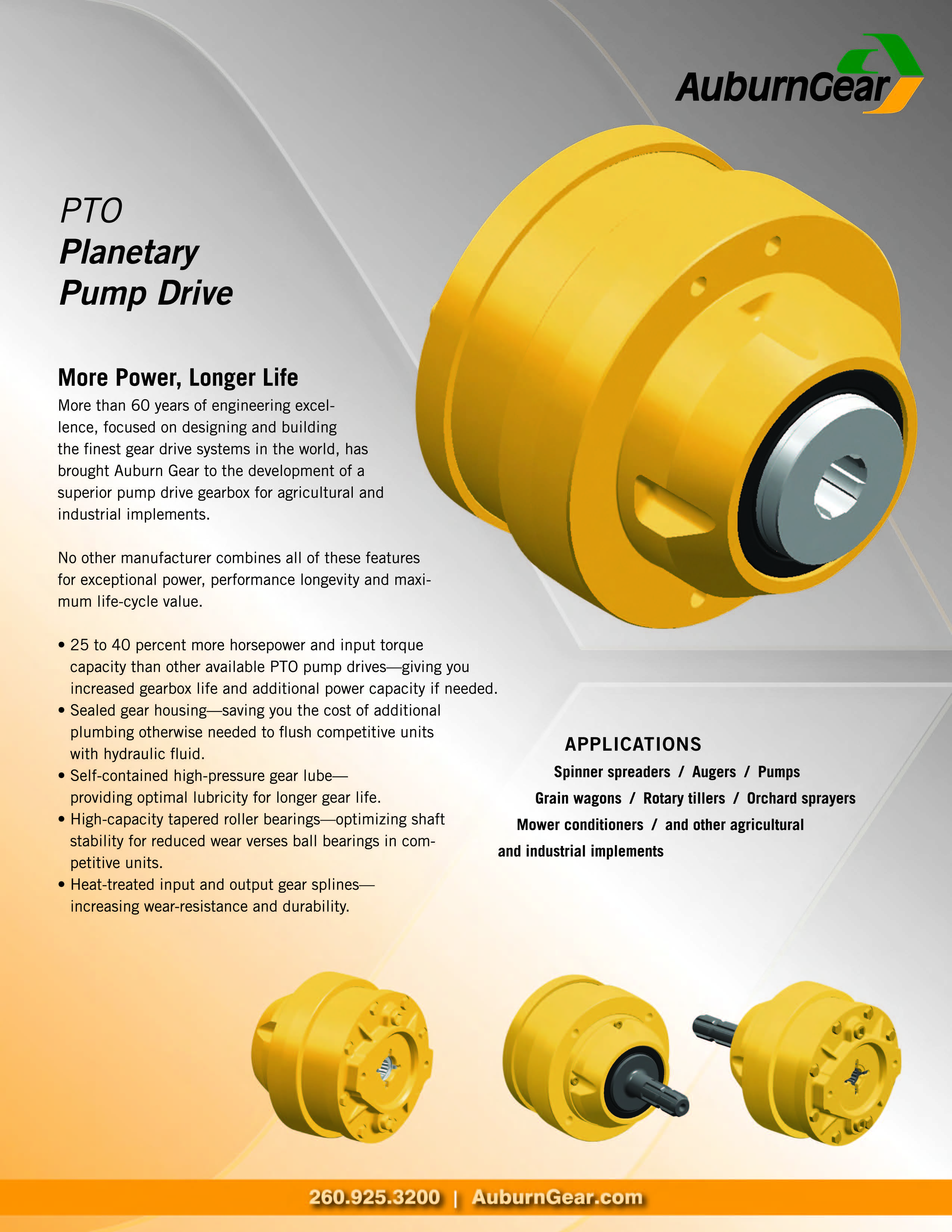 NEW PRODUCT: PTO Planetary Pump Drive